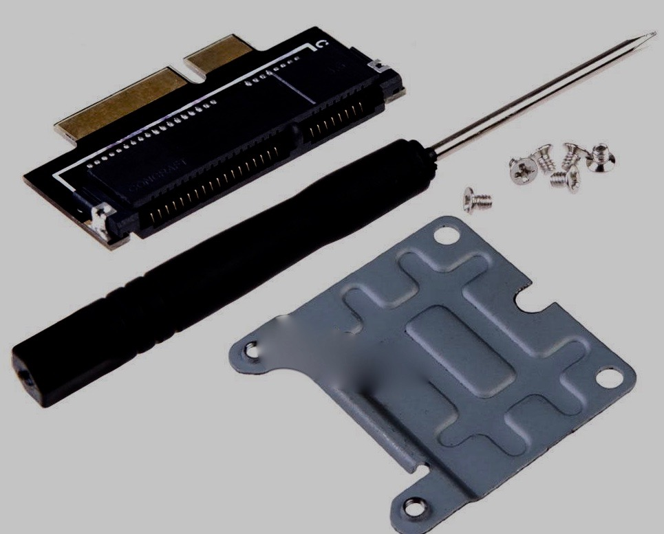 mSATA SSD Adapter for Apple Retina A1398 A1425MC975 MC976 MD212 MD213 ME662